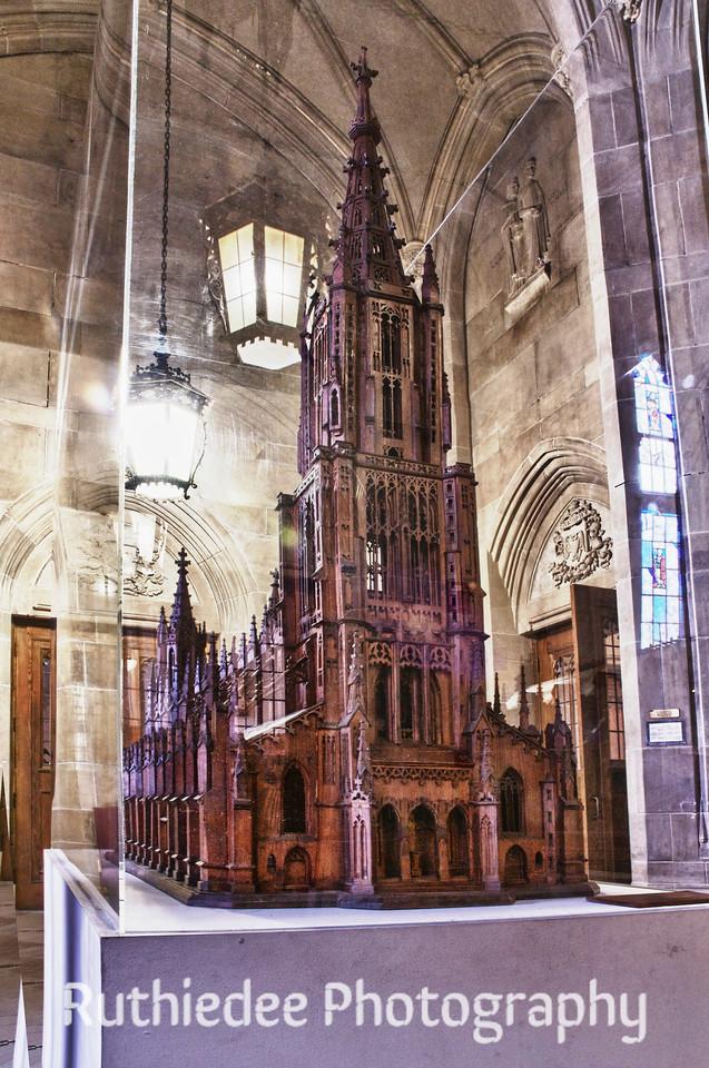 Model church...
