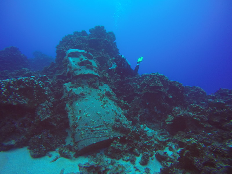 South America Adventure Easter Island Diving