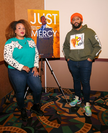 'Just Mercy' hosted by Blogxilla and Janeé Bolden of Global Grind