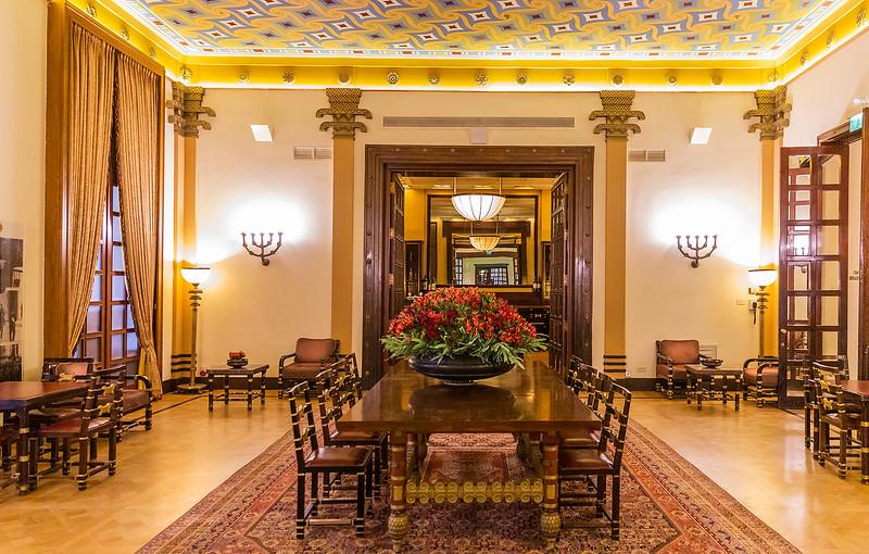 Lobby area King David Hotel