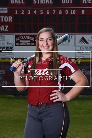 BHS Softball Team Pictures 2017