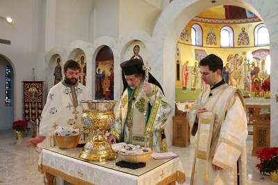 Theophany Liturgy 2014