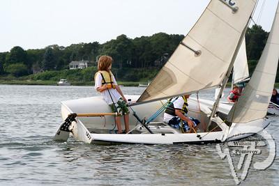 Jr. Sailing — morning — 7 . 18 - 2008