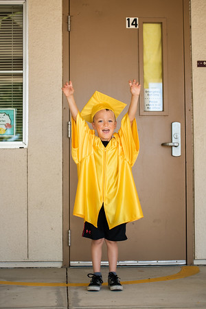 Colton Kindergarten Grad