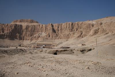 Temple of Hatesput (Luxor) Egypt - December 2007