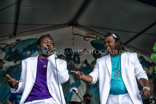 Bo Dollis &The  Wild Magnolias @ Jazz & Heritage Stage (Sun 5/6/12)