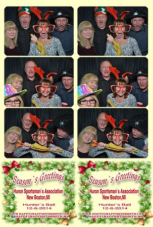 Huron Sportsman`s Club Holiday Party-Dec 6, 2014