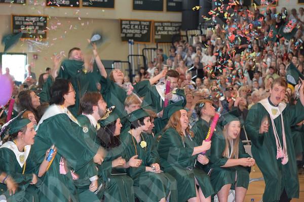 Mount Desert Island High School graduation