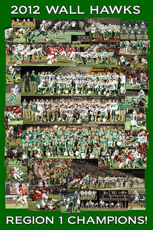 2012 Football Posters
