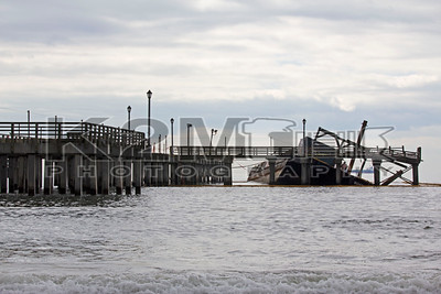 Coney Island Sunken Barge [4-13-13]