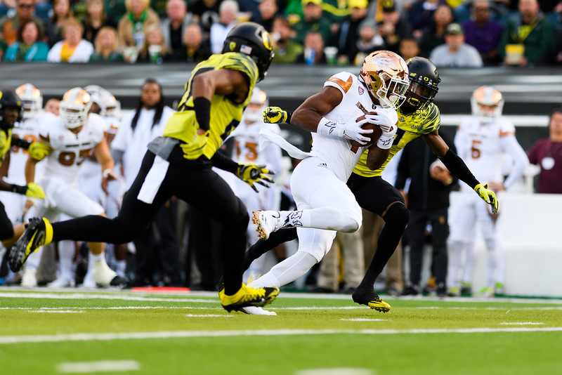 The Arizona State Sun Devils face the Oregon Ducks at Autzen Stadium in Eugene, Oregon on October 29, 2016. (Michael Arellano/DieHard Devil)