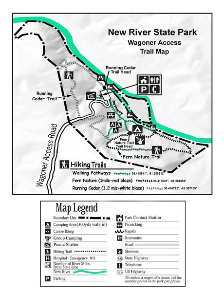 New River State Park (Wagoner Access Trails)