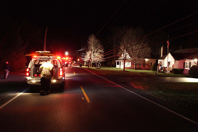Pleasant Valley Auto Accident - Sherow Road - April 13, 2012