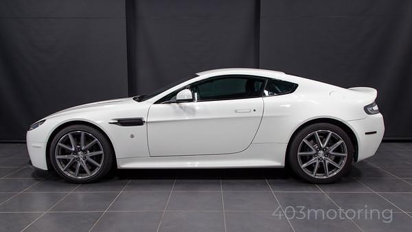 '12 V8 Vantage S - Stratus White