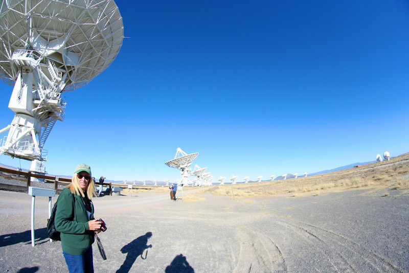 A day at the VLA in Socorro, New Mexico, for the Festival of the Cranes 2011.