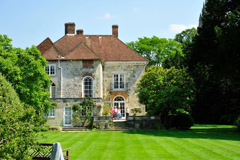 Arundells, Salisbury - former home of Prime Minister Edward Heath.