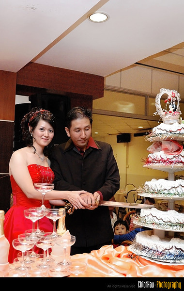 Is time to cut the cake... :D