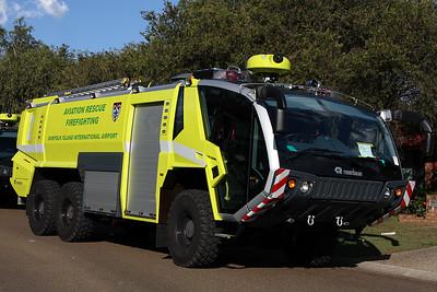 Aviation Rescue Fire Fighting (ARFF Airport) Fire Trucks Australia