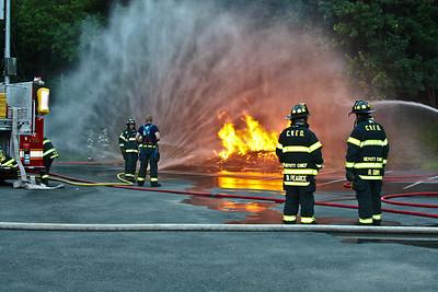 7-14-09 Live Burn Training
