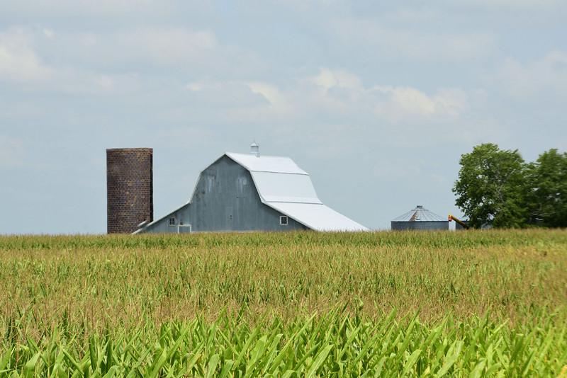 Old Barn & Grain Silo