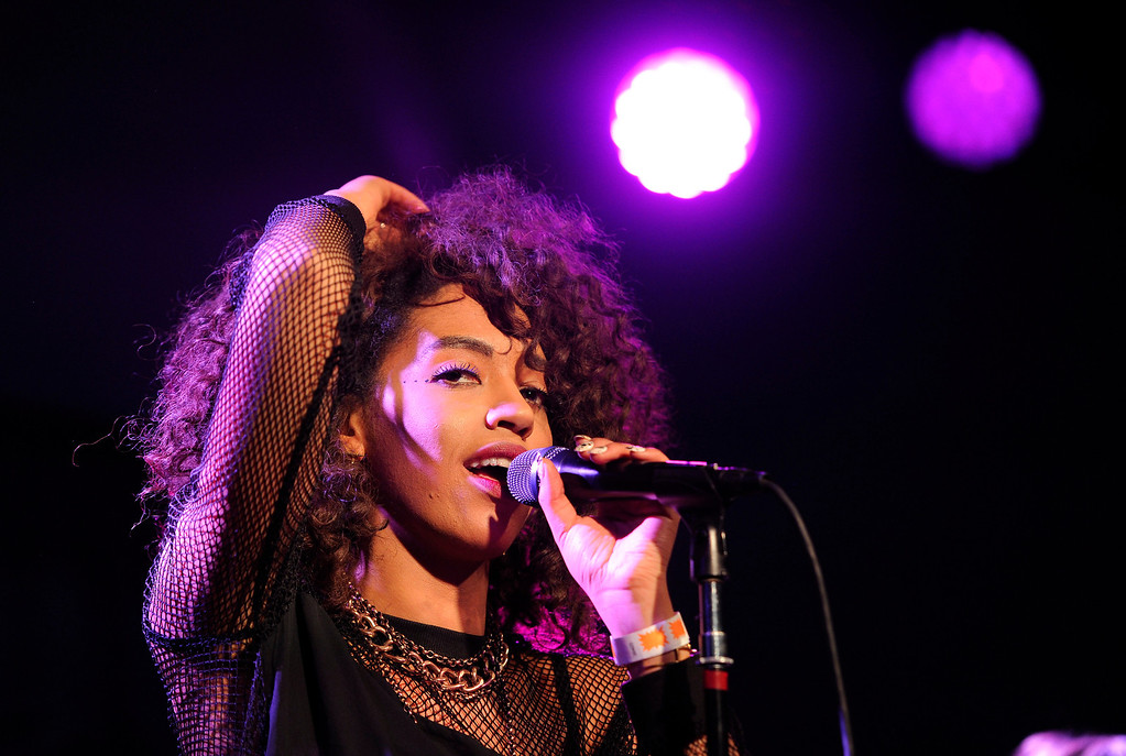""". British singer Jetta performs at the \""""Music in Film\"""" celebration at the 2014 Sundance Film Festival, on Sunday, Jan. 19, 2014, in Park City, Utah. (Photo by Chris Pizzello/Invision/AP)"""