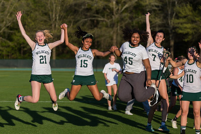 Girls LAX April 10, 2018