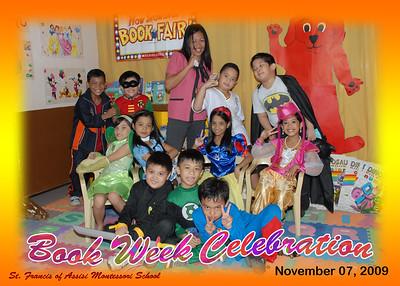 Book Week Group Photos 2010-2011