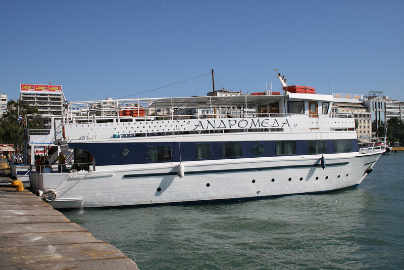 M/V ANDROMEDA in Piraeus.