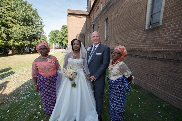Elfrida's & Roger - The Wedding