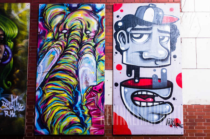 Columbia Alley Art