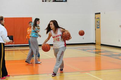 Bothwell Girls vs. Escanaba Basketball 2012-13
