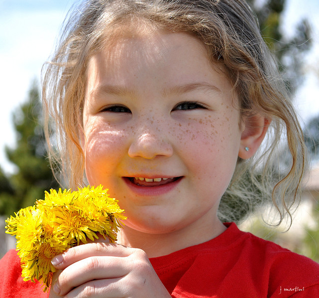 flowers and freckles 3-30-2013.jpg