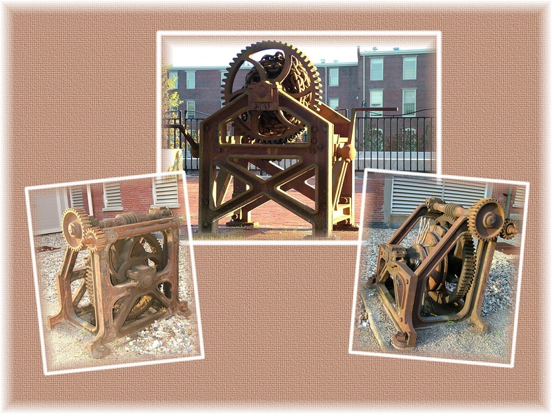 Artifacts, (Gears from Mills)  ~ Lowell, MA