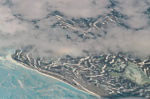 Arctic Canada from Air