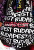 Handbags for sale: BUDAPEST words all over bag.