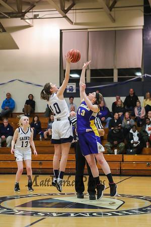 2019-2-8 STA Girls Basketball vs Franklin