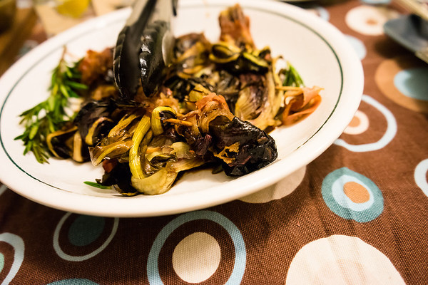 Dinner at Forzano