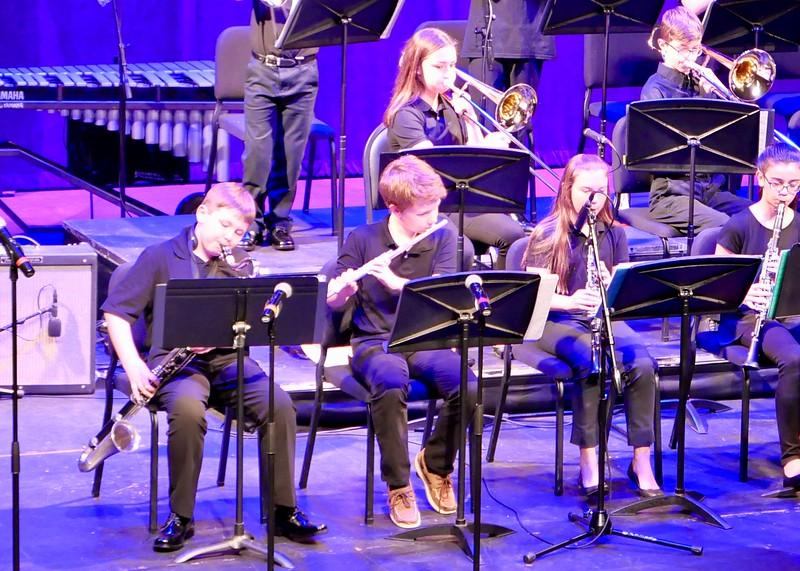 St. George Jazz Ensemble.