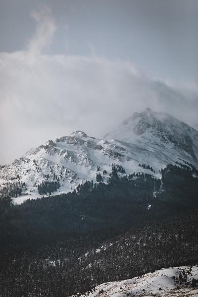 SW Montana mountain peak