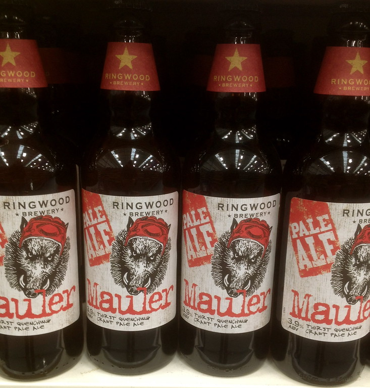 Ringwood Brewery Mauler Pale Ale - Mark P