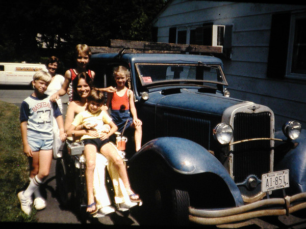 1981 - Mother's Family in New Jersey