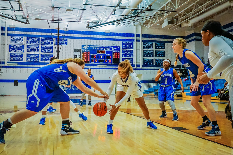 Lady Panthers Varsity vs  Weatherford 01-12-16-8