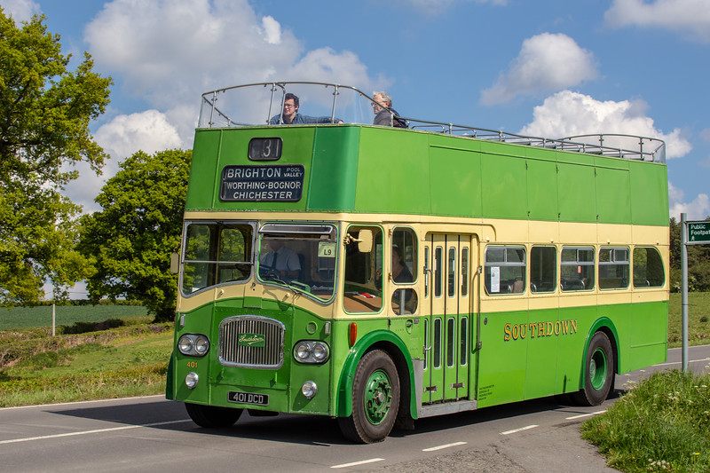 1964 Leyland Titan PD3 with Northern Counties body