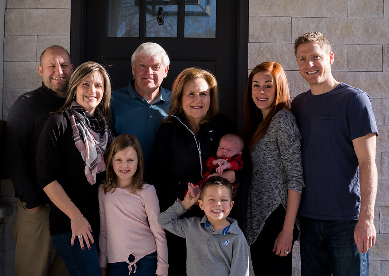 Family Portraits Jill and Kevin Winter 2019 | Low Res