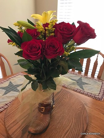 2018 08-31 40th Anniversary Flowers