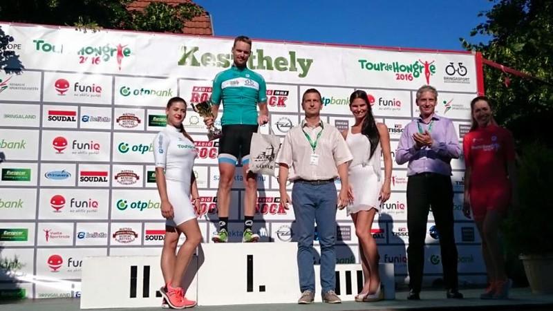 Siegerehrung bei der Tour de Hongrie