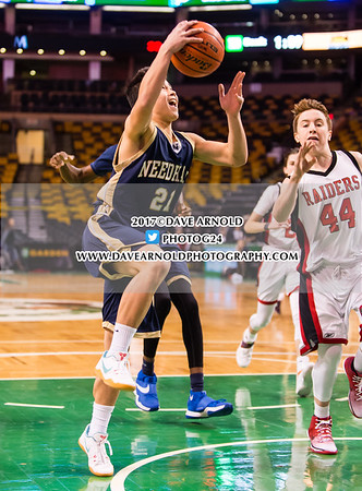 1/8/2017 - Boys JV Basketball - TD Garden - Wellesley vs Needham