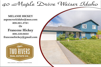 40 Maple Drive Weiser Idaho - Melanie Hickey