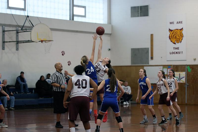Middle School Girls Basketball 2017-18 Season