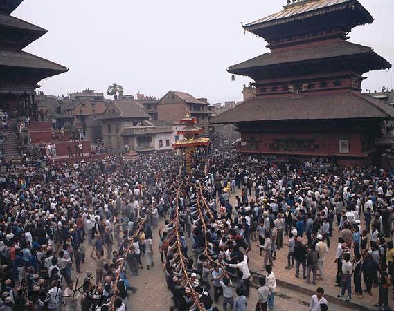 Celebrating Bhaktapur